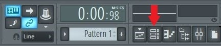 fl studio 12 toolbar