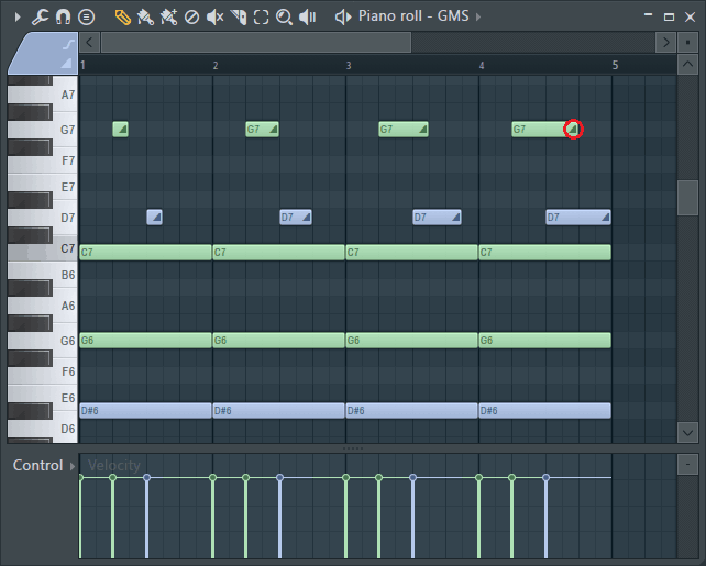 fl studio piano roll slide notes