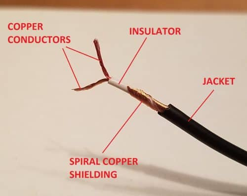 audio cable teardown