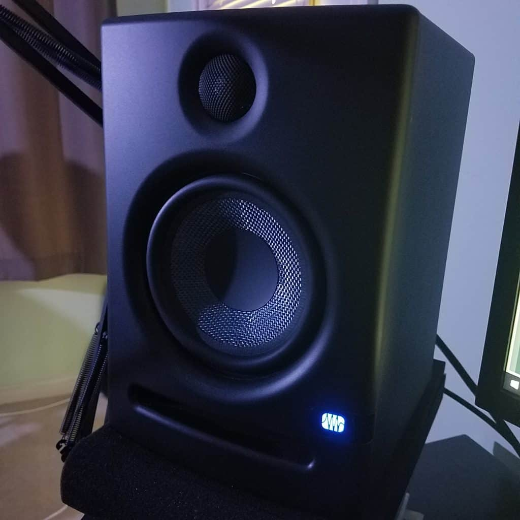 presonus eris e5 review led indicator