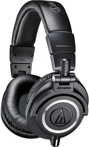audio-technica ath-m50x best headphones for music production