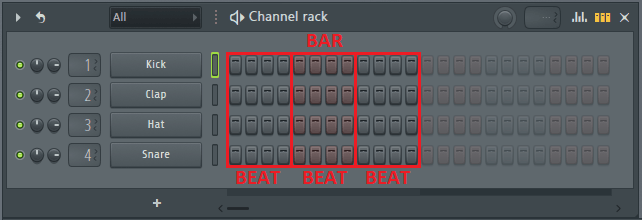 change time signature in fl studio to 3-4 time