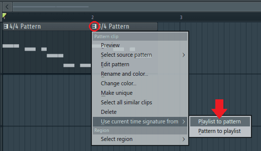 sync time signatures